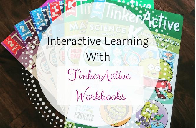 #ad Interactive Learning With TinkerActive Workbooks #momsmeet #tinkeractive